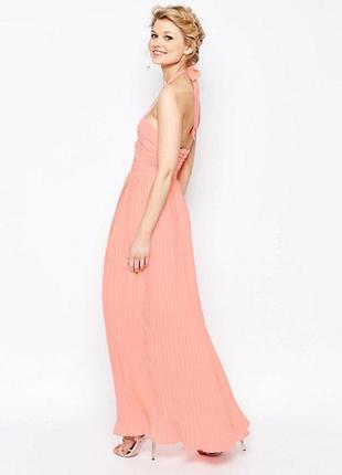 Платье макси с вырезом true decadence petite2