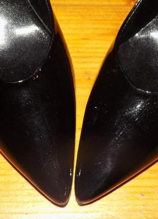 Кожаная фирменная женская обувь о т hogl 36-36.5 р- новая2