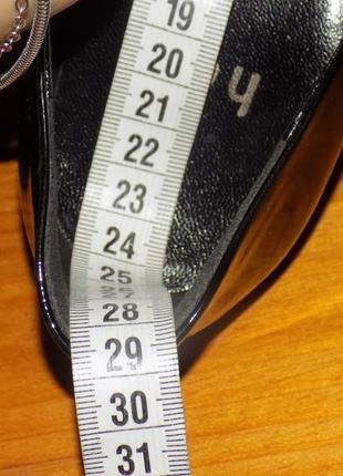 Кожаная фирменная женская обувь о т hogl 36-36.5 р- новая4