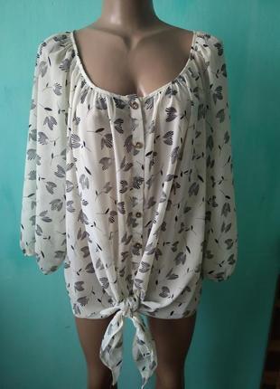 Шифонова рубашка1
