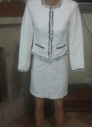 Пиджак в стиле шанель шведской фирмы а1