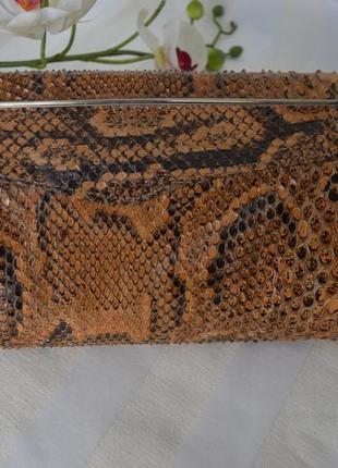 Клатч сумка кожаный valentina италия4