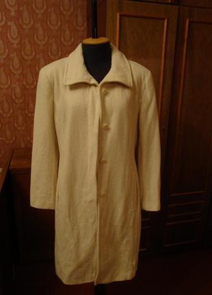 Белое шерстяное пальто. next1