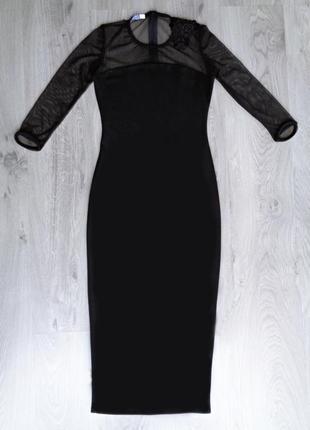 Шикарное платье-миди по фигуре {все размеры и расцветки}2 фото