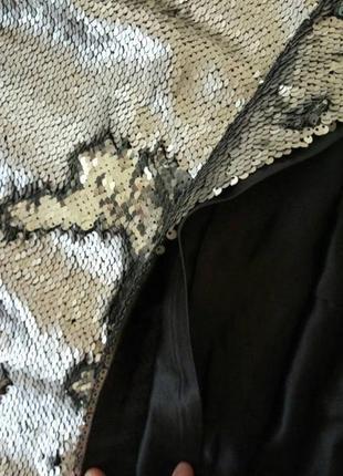 Платье в паетках4