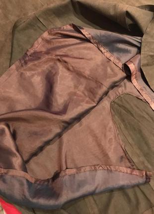Актуальная юбка макси экозамш3