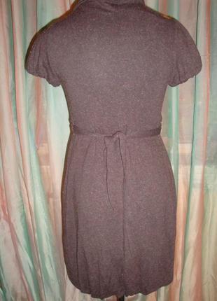 Теплое платье благородного коричневого цвета explosion.2