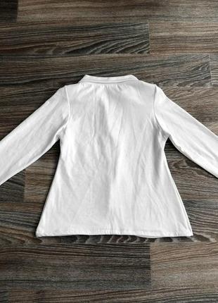 Белый приталенный классический пиджак жакет блейзер от impossible3