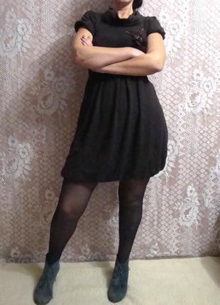 Теплое платье благородного коричневого цвета explosion.5