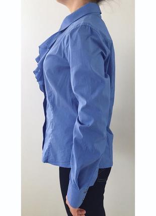 Рубашка синего цвета.2