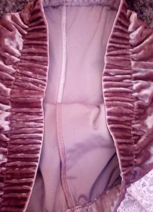 Новые бархатные шорты2