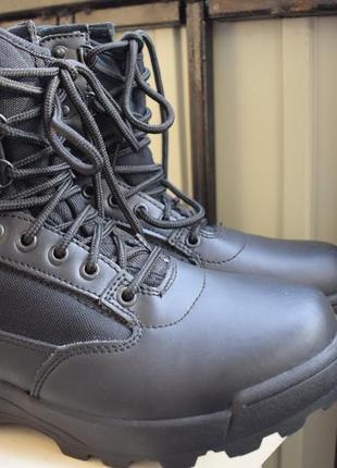 Кожаные ботинки берцы р.40 26-27 см brandit тактические