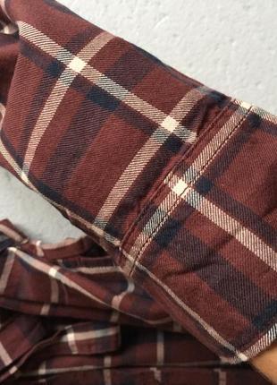 Котонова сукня сорочка із кишенями5