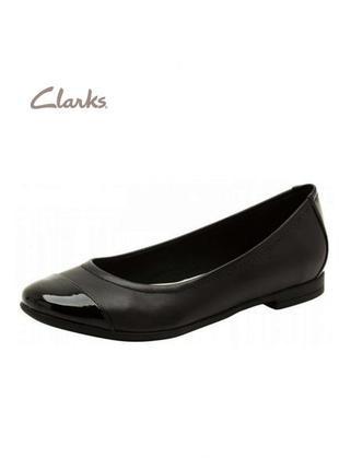 3440 туфлі clarks uk6d/eu39,5 шкіра сток