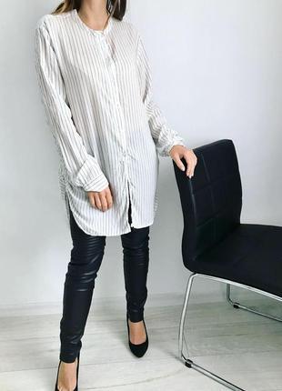 Удлиненная блуза1