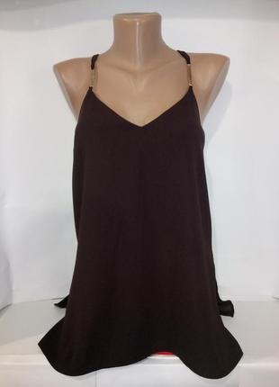Красивая стильная блуза майка от river island uk 8 / 36 / xs1