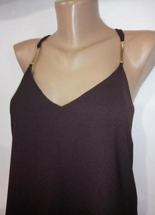 Красивая стильная блуза майка от river island uk 8 / 36 / xs2