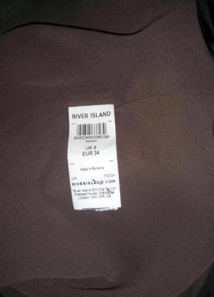 Красивая стильная блуза майка от river island uk 8 / 36 / xs4
