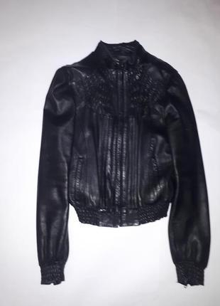 Куртка -кожа