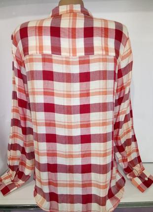 Красивая рубашка в клетку dorothy perkins uk 14 / 42 / l3