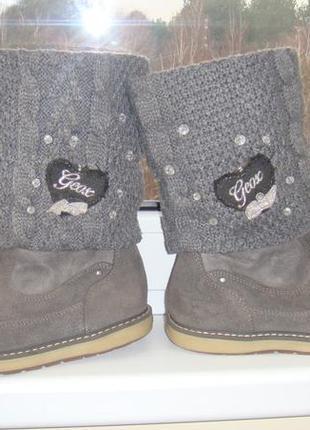 Ботинки сапоги деми geox 32р