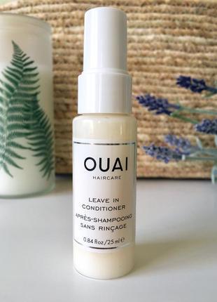 Ouai leave in conditioner несмываемый уход для волос (usa) - 25ml