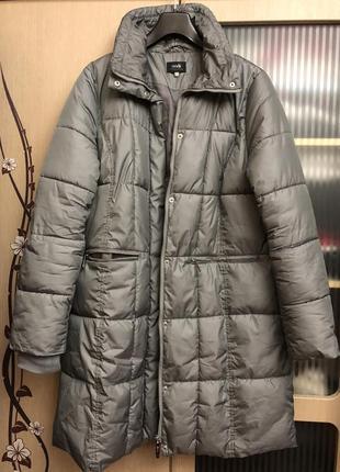 Пуховик удлинённая куртка oodji