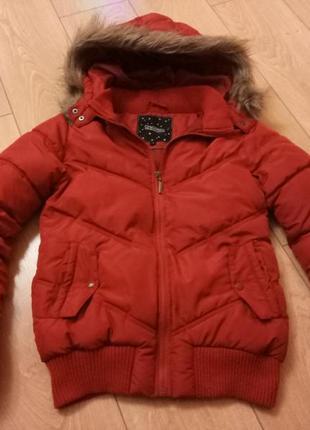 Зимняя куртка пуховик на синтепоне