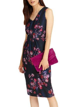 Великолепное платье миди в цветы phase eight размер 164