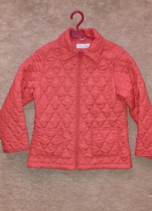 Куртка стеганная демисезонная на рост 128 - 140 см