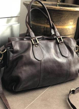 Кожаная сумка 100% натуральная кожа2