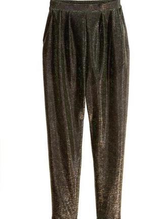 Лёгкие нарядные брючки с шортами h&m отличный вариант для вечеринки 🔥1