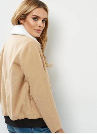 Курточка бомбер new look tall подойдёт для высокой девушки1