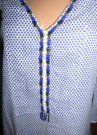 Блуза р-р 12 коттон бренд didi2