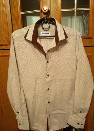 Рубашка мужская турция zermon