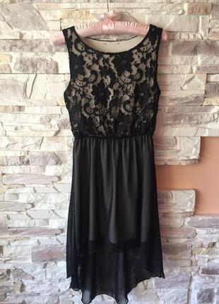 Милое платье с кружевом1