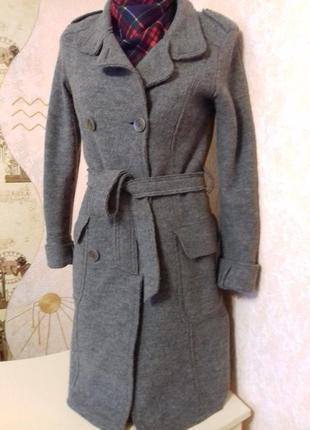 Пальто демисезонное франция, 100% шерсть, р.xs-s