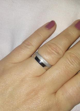 Кольцо серебро 18,5 р .925 пр2 фото