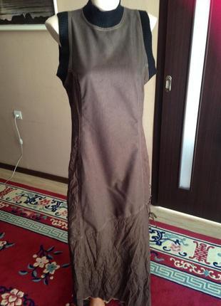 Французское длинное платье