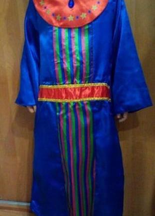 Новогодний костюм мага, чародея,волшебника на 5-6 лет
