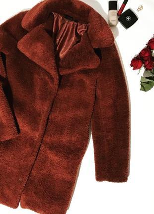 Плюшевое пальто esmara