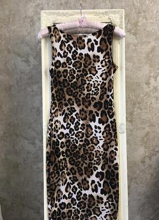 Платье в леопардовый принт2