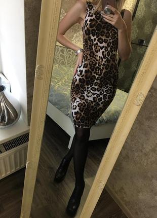 Платье в леопардовый принт3