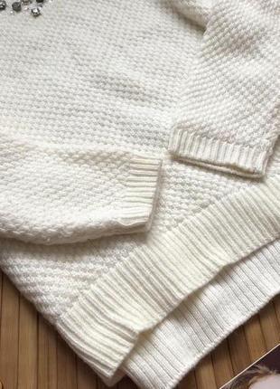 Красивый свитер в составе есть шерсть с камнями5