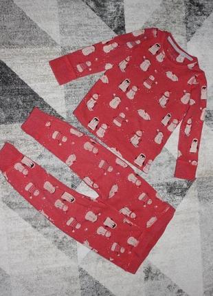 Пижама next на 1,5-2 года рост 92 см