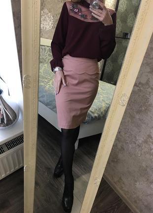 Блузка с вышивкой2