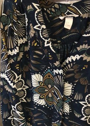 Блузка в цветы4