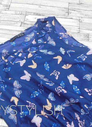 Шифоновое платье с бабочками2