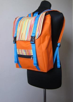 Рюкзак ручной работы с отделением для ноутбука