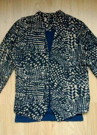 Кардиган пиджак mork легкий размер м3